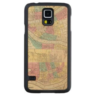Las ciudades de Pittsburgh Allegheny Cincinnati Funda De Galaxy S5 Slim Arce