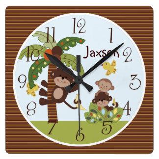 """Las """"colas rizadas reloj personalizado Monkey/de"""