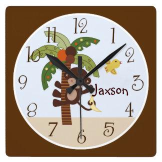 """Las """"colas rizadas reloj personalizado Monkey/de l"""