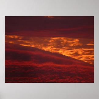Las colinas ardientes póster