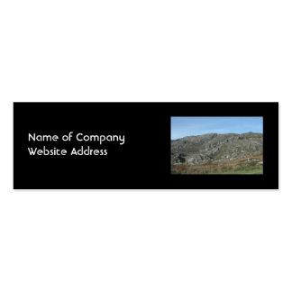 Las colinas rocosas acercan a la cabeza de Dursey. Tarjeta De Visita
