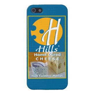 Las colinas se dirigen el queso curado iPhone 5 carcasas