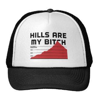Las colinas son mis gorros