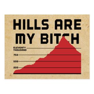 Las colinas son mis postal