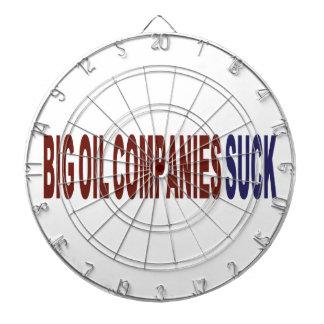 Las compañías petroleras grandes chupan tabla dardos