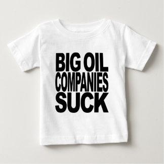 Las compañías petroleras grandes chupan playera de bebé