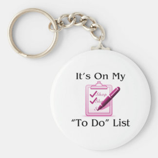 Las compras están en mi para hacer la lista llavero redondo tipo pin