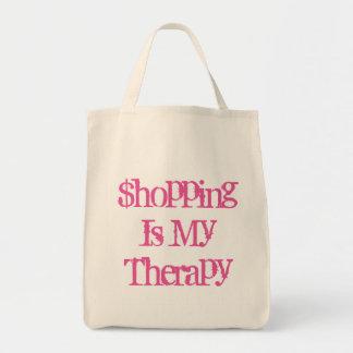 Las compras son mi tote del ultramarinos de la bolsa tela para la compra