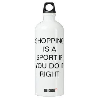 ¡Las compras son un deporte si usted hace él