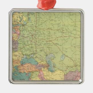 Las comunicaciones de Europa terrestre, mar Ornamentos Para Reyes Magos