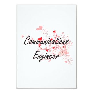 """Las comunicaciones dirigen sistema de trabajo invitación 5"""" x 7"""""""