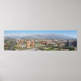 Las Condes (Santiago, Chile) Póster