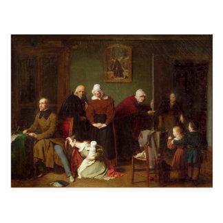 Las consecuencias de la seducción, 1824 tarjetas postales