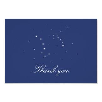 Las constelaciones del cielo nocturno le agradecen anuncio