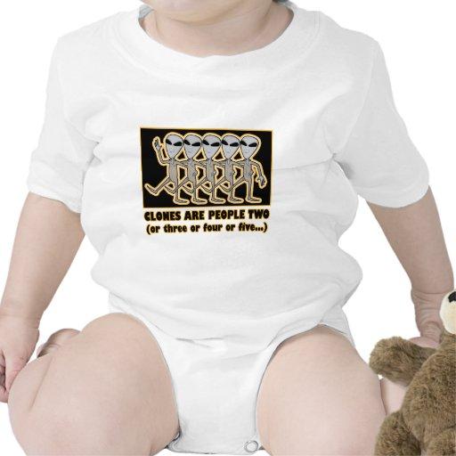 Las copias son la gente dos traje de bebé