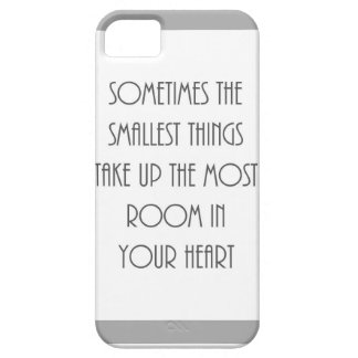 las cosas alguna vez más pequeñas la mayoría del iPhone 5 funda