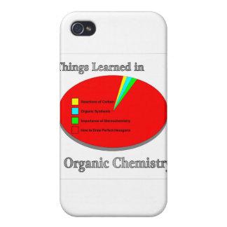 Las cosas I aprendido en química orgánica iPhone 4 Protectores
