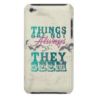 Las cosas no están siempre mientras que parecen cubierta para iPod de barely there
