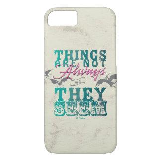 Las cosas no están siempre mientras que parecen funda iPhone 7
