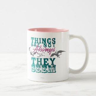 Las cosas no están siempre mientras que parecen taza