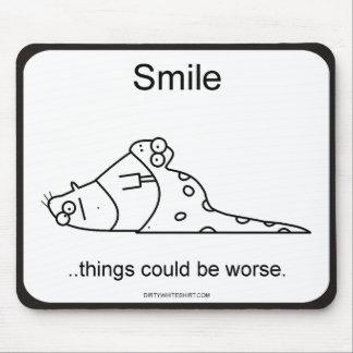 Las cosas podían ser peores alfombrillas de raton