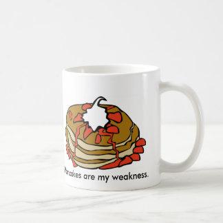 Las crepes son mi debilidad taza de café