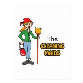 Las criadas de la limpieza postal