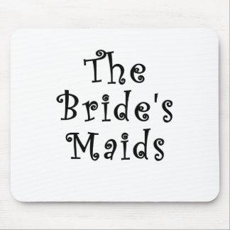 Las criadas de las novias tapete de ratones