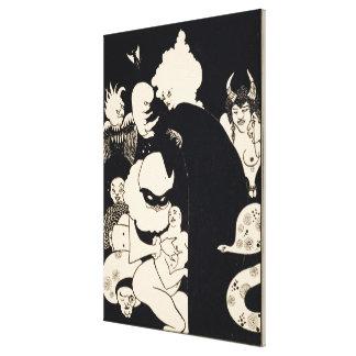 Las criaturas extrañas de Lucian, ejemplo de 'Luca Lona Estirada Galerías