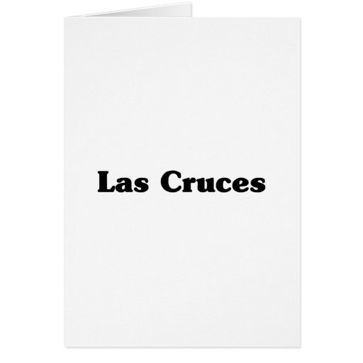 Las Cruces  Classic t shirts Card