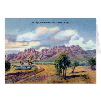 Las Cruces New Mexico Organ Mountains Card