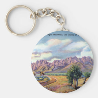Las Cruces New Mexico Organ Mountains Keychain