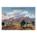 Las Cruces New Mexico Organ Mountains Poster