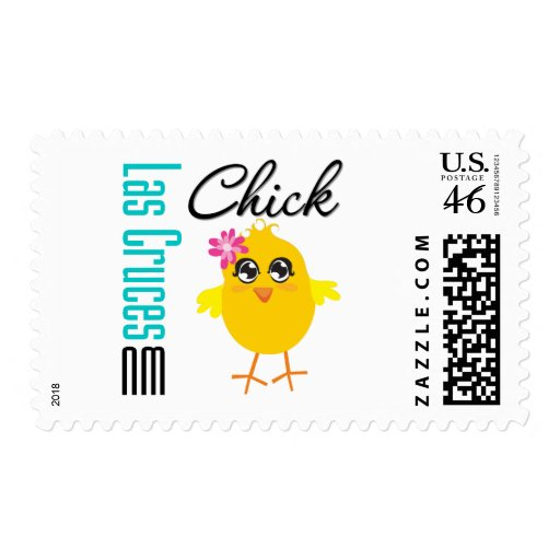 Las Cruces NM Chick Stamp