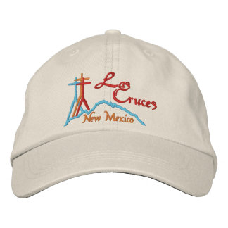 Las Cruces, NM Embroidered Baseball Cap