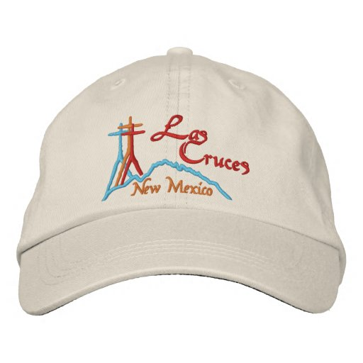Las Cruces, NM Embroidered Baseball Hat
