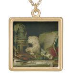 Las cualidades de los artes, 1769 (aceite en lona) colgante