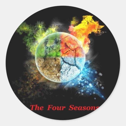 ¡Las cuatro estaciones! - Pegatina