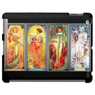 Las cuatro series 3 de las estaciones por el caso  funda para iPad