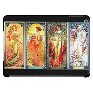 Las cuatro series 3 de las estaciones por la caja  funda para iPad air