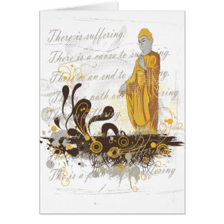 Las cuatro verdades nobles tarjeta