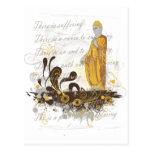 Las cuatro verdades nobles tarjetas postales