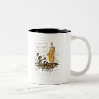 Las cuatro verdades nobles taza de café
