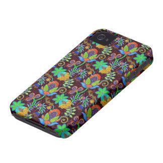 Las cuentas de cristal coloridas miran el diseño f iPhone 4 carcasa