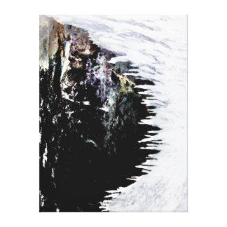 Las Cuevas de Camui, San Juan viejo, banda - Ca en Impresión En Tela