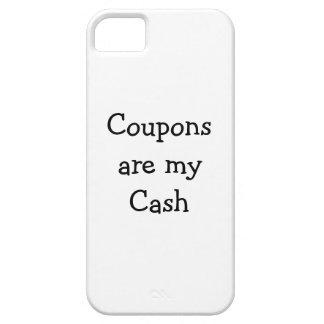 Las cupones son mi piel de Iphone del efectivo iPhone 5 Funda