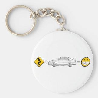 Las curvas, Subaru, igualan la diversión Llaveros