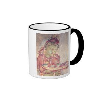 Las damiselas de la nube, de la fortaleza de la ro taza de café