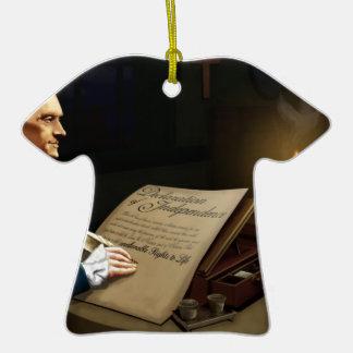 Las derechas alienables - Obamacare Adorno De Cerámica En Forma De Camiseta