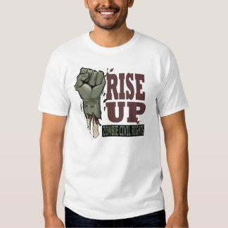Las derechas civiles del zombi camisas